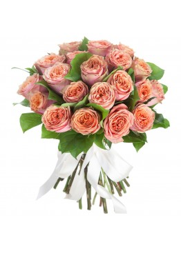 29 пионовидных роз Вувузела