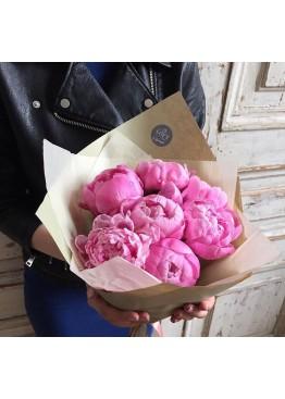 Любимые розовые пионы