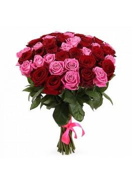 микс из 45 роз