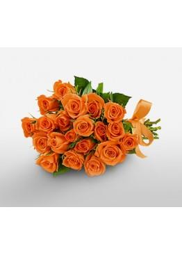 Оранжевая леди